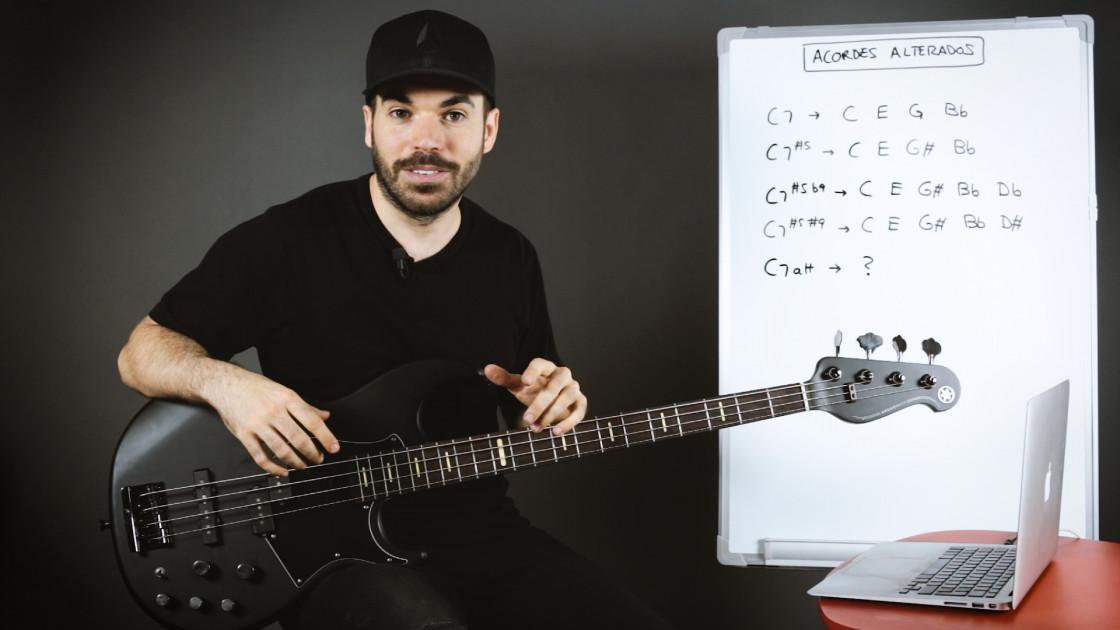 Armonía musical para bajistas 2 - Acordes alterados (teoría)