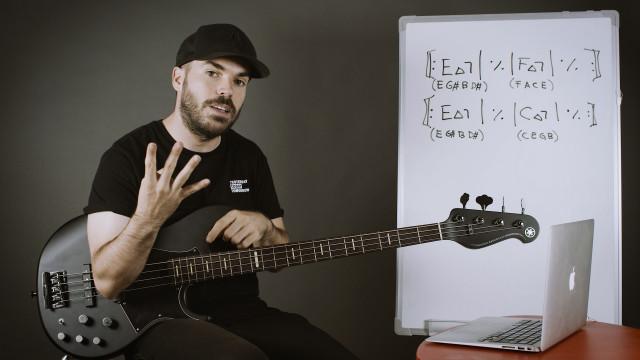 Improvisación sobre 2 acordes sin relación (Parte 1)