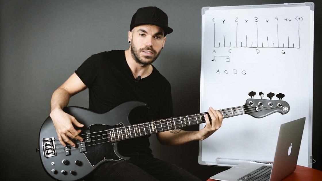 Ritmo - Creación de grooves a partir de la gráfica del ritmo (avanzado)