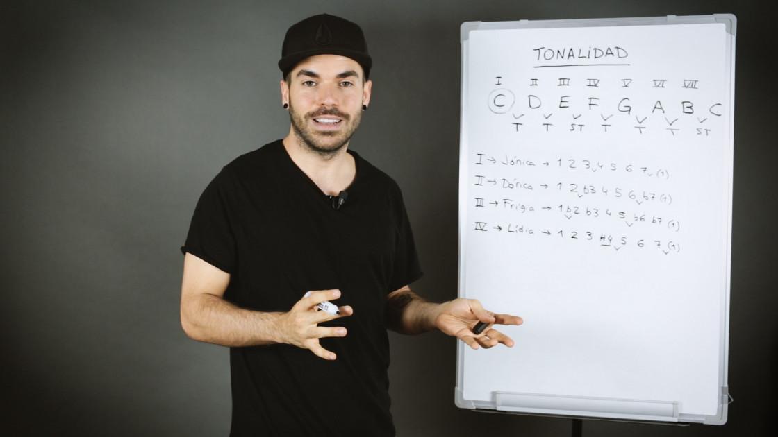 Armonía musical para bajistas - Las 7 escalas diatónicas: explicación teórica