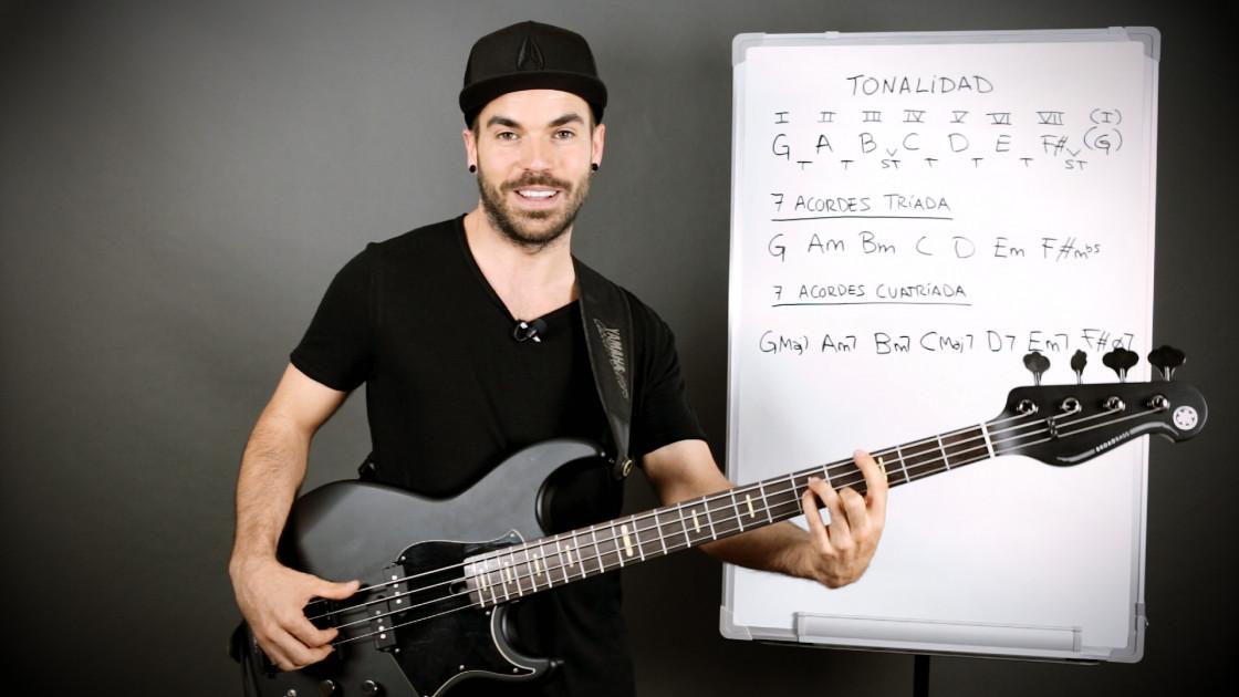 Armonía musical para bajistas - La sonoridad de los acordes diatónicos