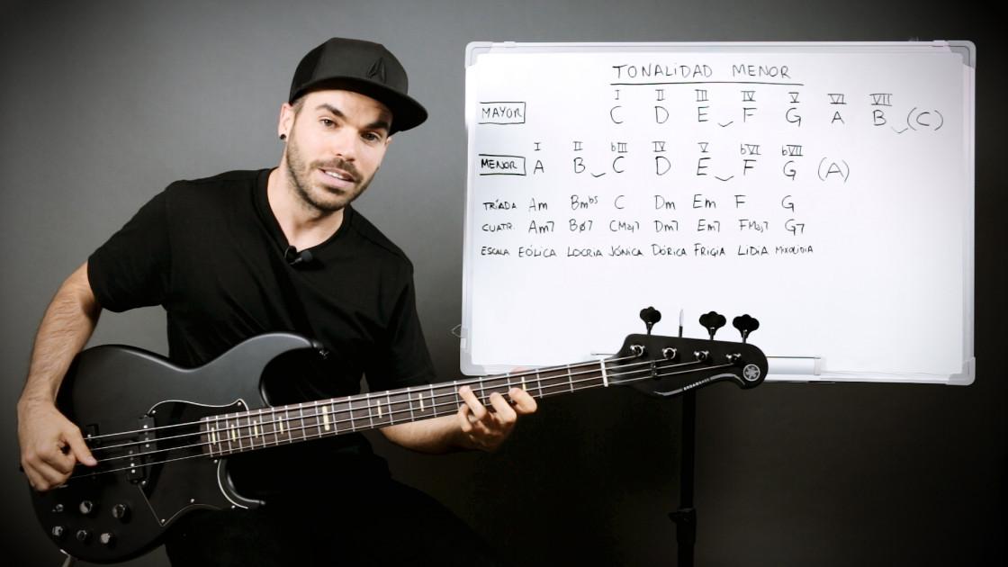 Armonía musical para bajistas - La tonalidad menor: cómo se forma