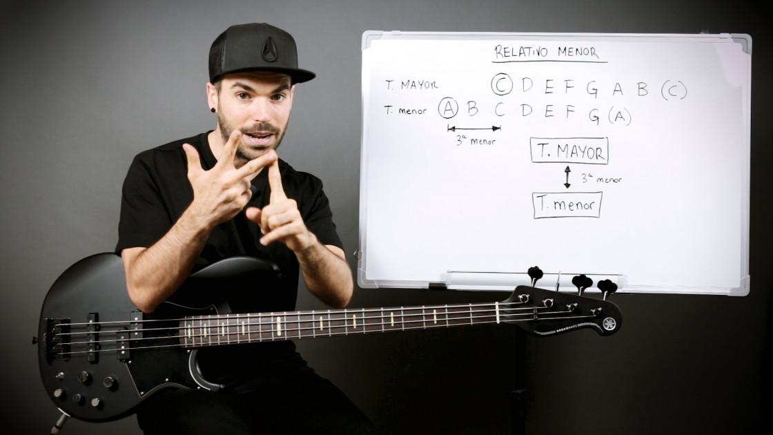 Armonía musical para bajistas - La tonalidad menor: el relativo menor