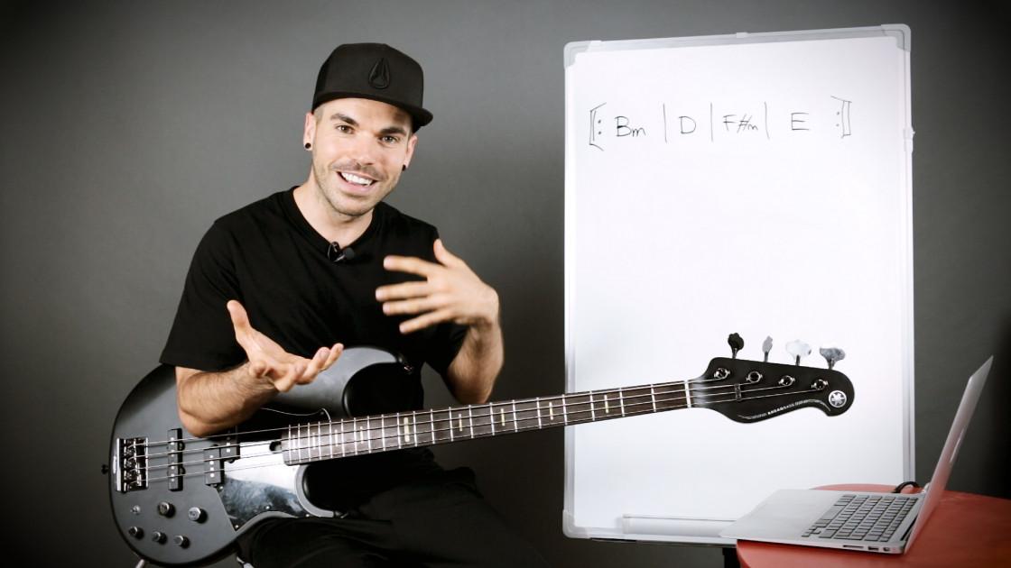 Armonía musical para bajistas - Cómo averiguar la tonalidad de una canción: método 3
