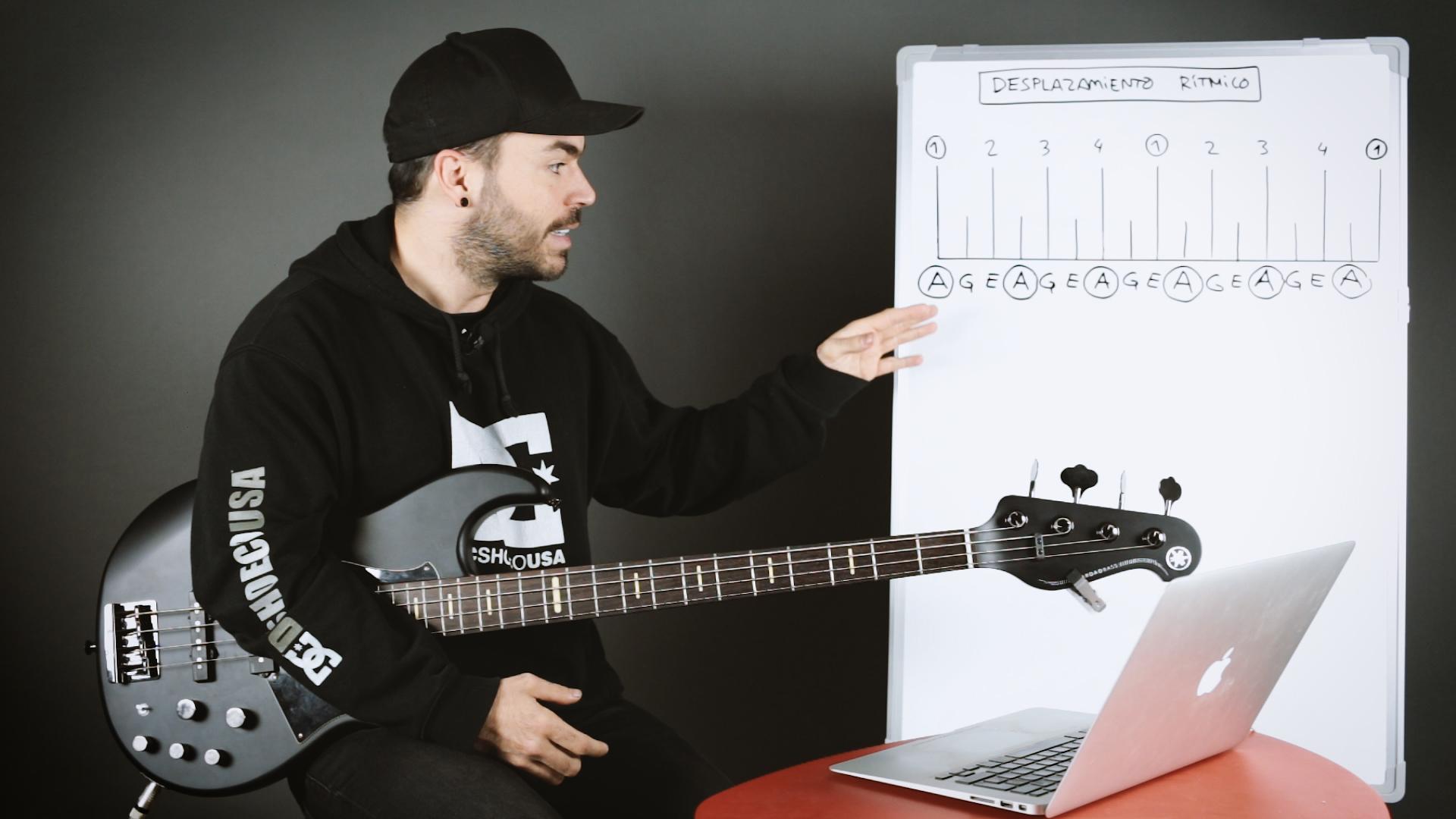 Desplazamiento rítmico (principiante)