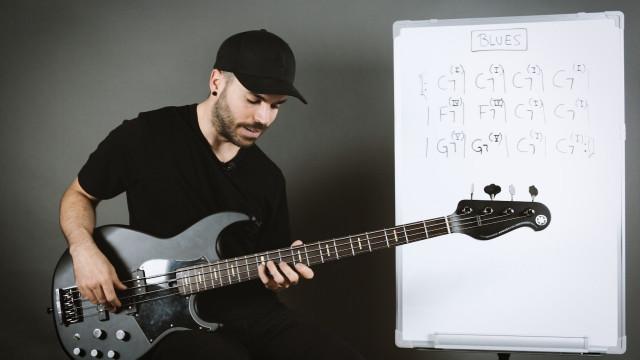 Estructura básica del blues